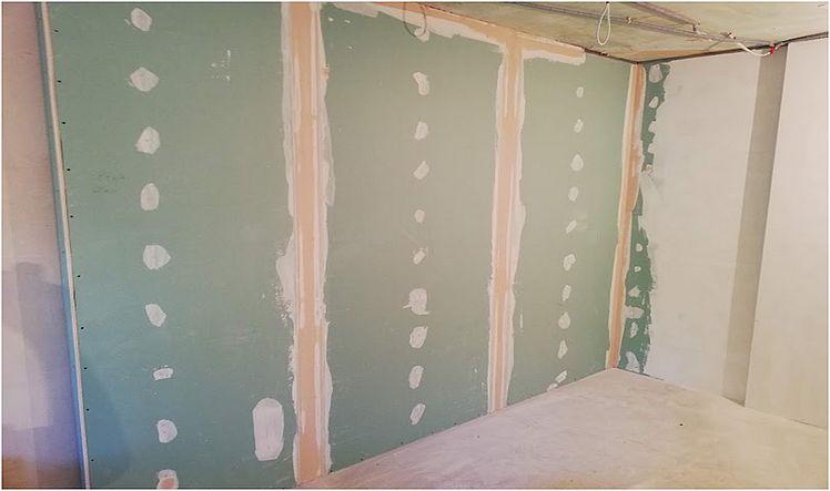 Ремонт квартир под ключ - бывают случаи, когда лучшим решением будет отделка стен гипсокартоном.