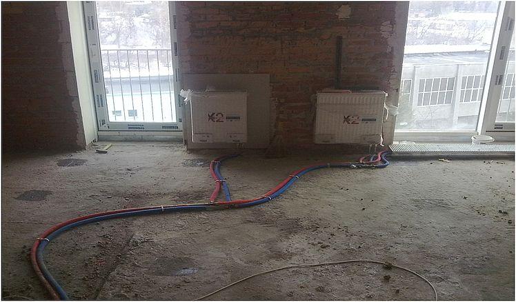 Ремонт под ключ система отопления