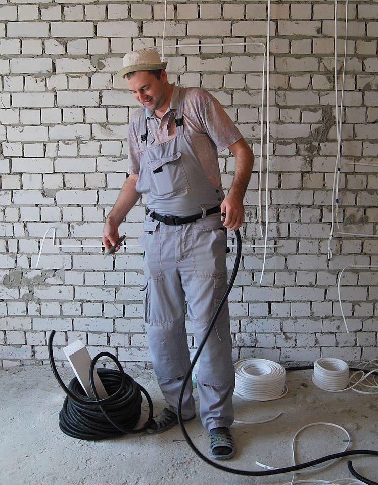 Разводка электрики в новой квартире